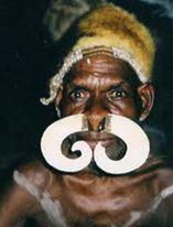 Пирсинг носа в Африке
