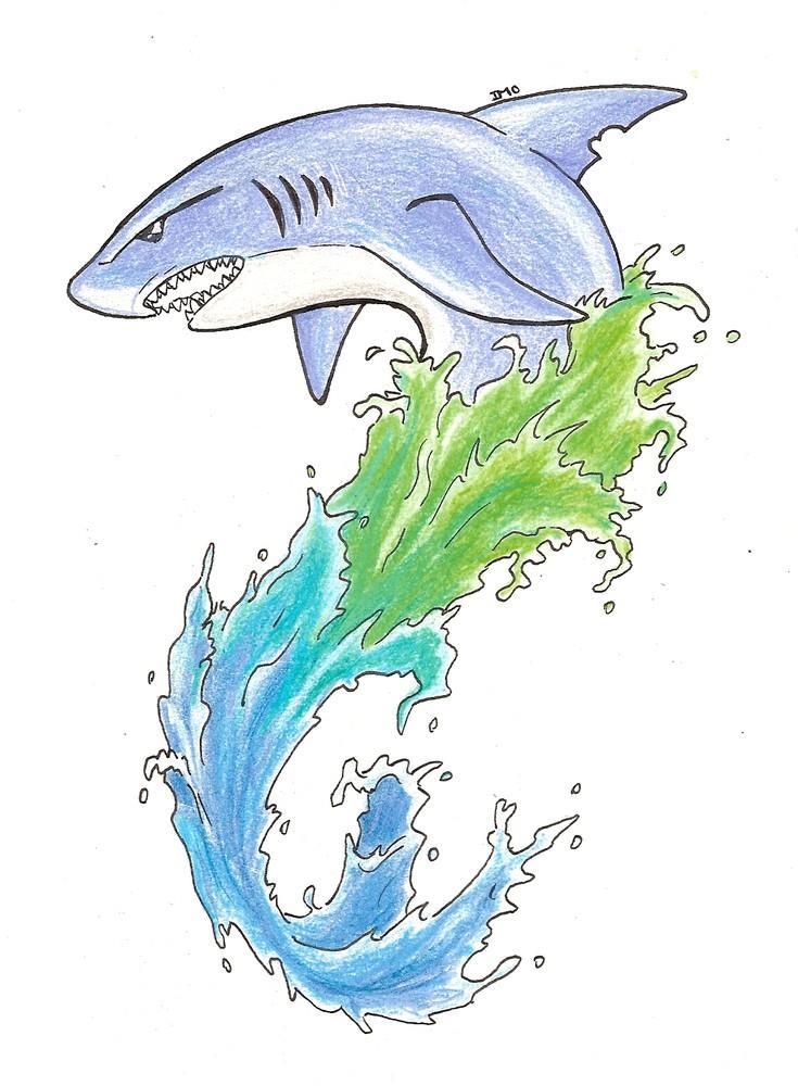 Значение и эскизы татуировки акулы