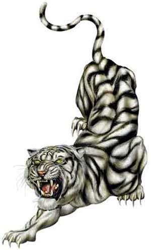 Татуировка тигр 50 фото. Эскизы, символика