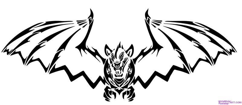 Bat tattoos 023