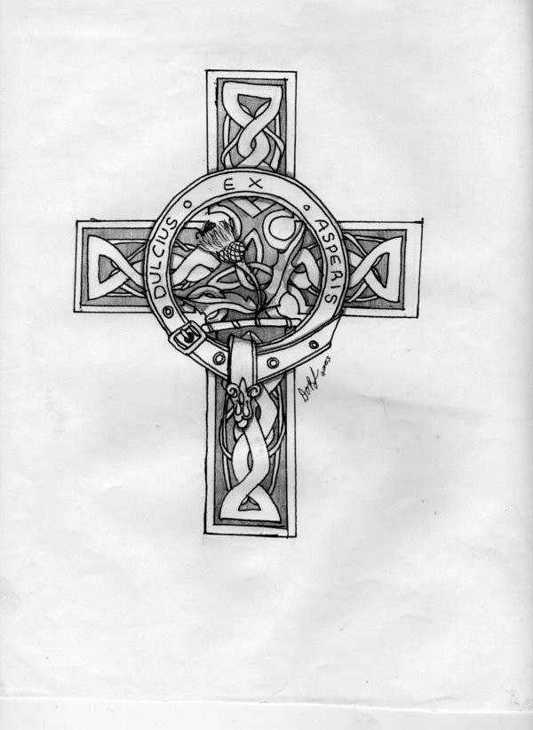 Celtic cross tattoos 019