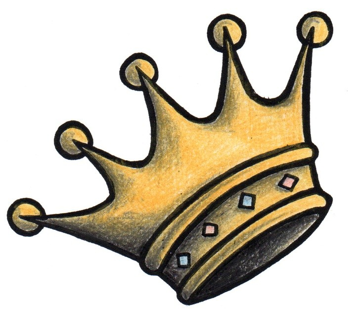 Короны для тату эскизы 168