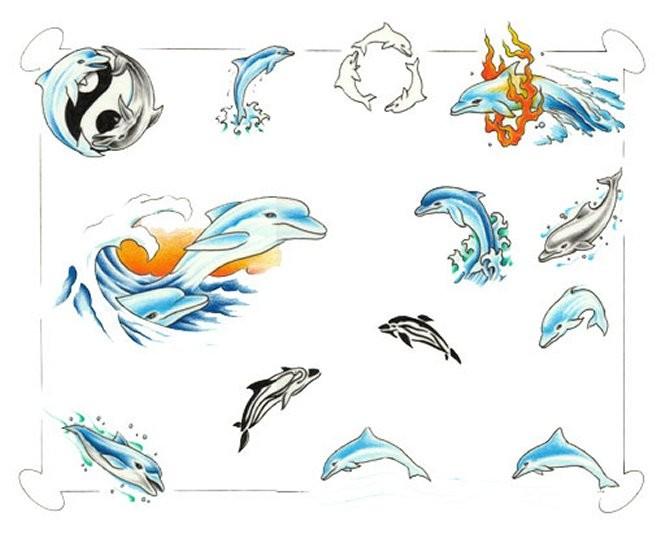 Значение татуировки дельфин, значение тату дельфин
