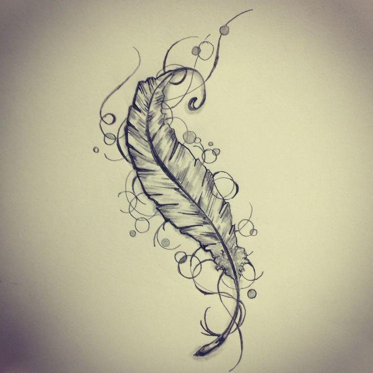 Feather tattoos 04