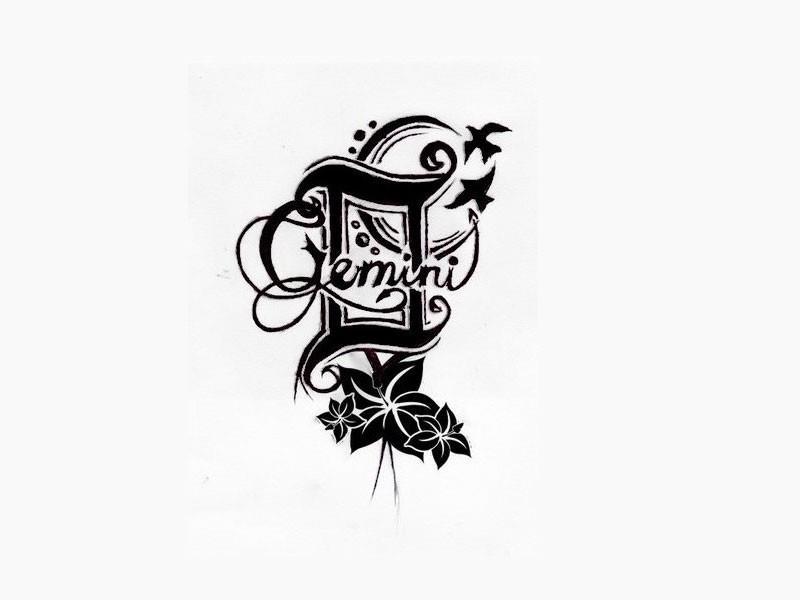 татуировки связанные со знаком близнецы