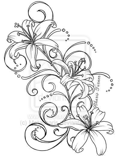 Lily tattoos 017