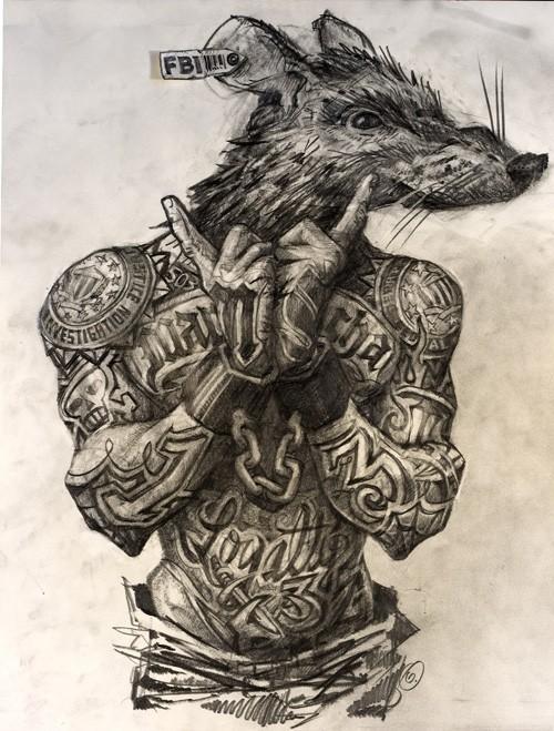 Уголовные татуировки и их значение на зоне, Тюремные 93